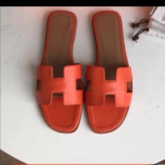 dc29bcac8072 Hermes Shoes - ‼️Hermes Oran Sandals size 39 used